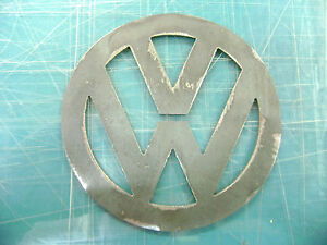 Plasma Cut Vw Metal Emblem Rat Rod Hot Rod Gasser