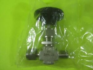 Swagelok whitey Needle Valve 5000 Psi Ss 1vm4 s6 New