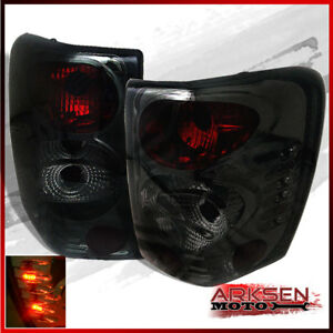 Fits Smoke 99 04 Jeep Grand Cherokee Altezza Tail Lights Lamps W Led Left R