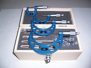 0 To4 Outside Micrometer Set new
