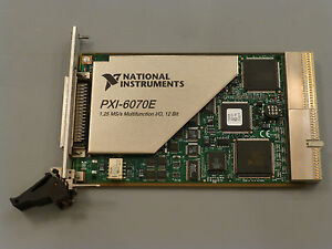 National Instruments Pxi 6070e Ni Daq Card Analog Input 1 25ms sec