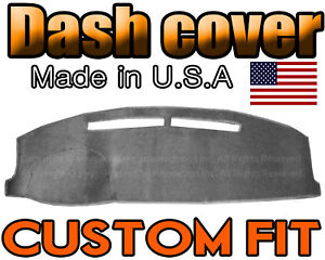 Fits 2006 2006 Mitsubishi Lancer Dash Cover Mat Dashboard Pad Charcoal Grey