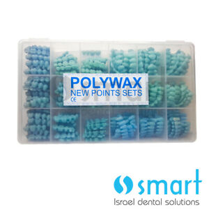 Dental Laboratory Wax Pontic Set For Bridges Crown Set 18 Sizes