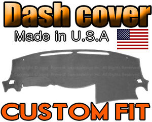 Fits 2013 2018 Nissan Pathfinder Dash Cover Mat Dashboard Pad Charcoal Grey