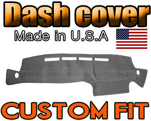 Fits 1996 2000 Nissan Pathfinder Dash Cover Mat Dashboard Pad Charcoal Grey