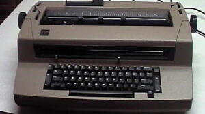 Refurbished Ibm Selectric Iii Typewriter W self Correction Key see Options Below