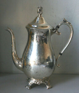 Vintage Fb Rogers Silver Co Tea Pot Only Collectible 12