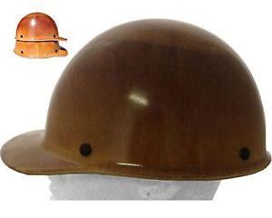 Msa Skullgard Cap Style large Size Fiberglass Hard Hat 2 Different Suspension