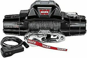 Warn 89611 Zeon 10 S 10 000 Lb Winch W Synthetic Rope For F 250 F 350 Super Duty