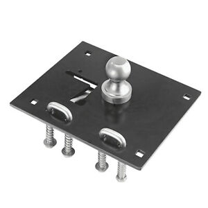 Draw Tite 6300 Remov A Ball Gooseneck Hitch With 2 5 16 Hitch Ball