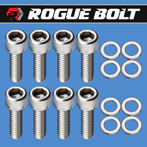 Sbc Valve Cover Bolts Stainless Steel Kit Small Block Chevy 283 327 350 383 400