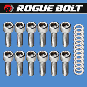 Sbf Valve Cover Bolts Stainless Steel Kit Small Block Ford 260 289 302 351w 5 0l