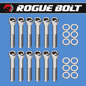 Sbf Intake Manifold Bolts Stainless Steel Kit Small Block Ford 289 302 5 0l 351w