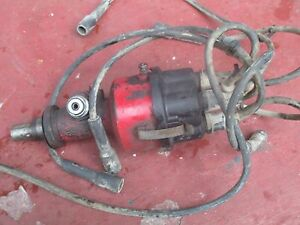 1967 International 656 Gas Utility Farm Tractor 6 Cylinder Distributor