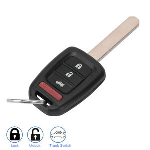 Keyless Entry Remote Key Fob Replacement For Honda Civic Si Ex N5f S0084a