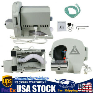 Dental Wet Model Trimmer Abrasive Machine Gypsum Arch Inner Disc Wheel 500w Jt19