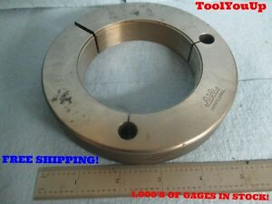 3 1 2 16 Un 3a Go Only Thread Ring Gage 3 500 P d 3 4594 Greenfield Tooling