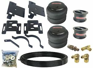 Chevy 2500 Tow Assist Air Bag Over Load Kit No Drill 4 Suspension Lifted 01 10