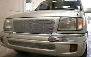 Grillcraft Toy1940s Silver Mx Grille Upper Insert For 98 00 Tacoma Pre Runner