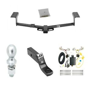 Class 3 Trailer Hitch Tow Kit W 2 Ball Wiring For Toyota Rav4