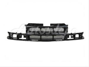 For 1998 2004 Chevy S10 Pickup 98 05 Blazer Grille Primed Black w o Molding