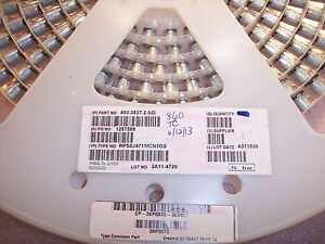 Qty 360 470uf 6 3v 105 Smd Solid Polymer Aluminum Rps0j471mcn1gs Nichicon