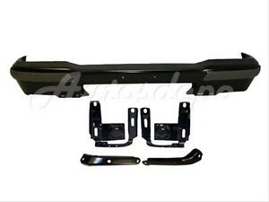 For 1999 2000 Ford Ranger Front Bumper Black Pad Filler Reinforce Bracket 7pcs