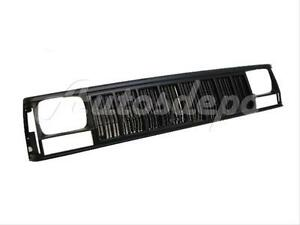 For 1991 1996 Cherokee Grille Black Headlight Door Bezel 3pcs