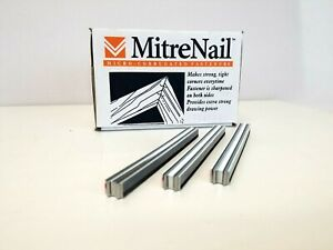 Miter Nails Microcorr Ffsmicro10 Fasteners 3 8 Long 1 Case 14 000
