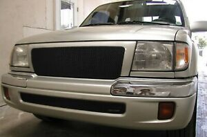 Grillcraft Toy1940b Black Mx Grille Upper Insert For 98 00 Toyota Tacoma