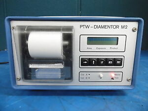 Ptw diamentor M2 X ray Power Supply Type 5737 P 294 115 230v 50 60hz 0 2 0 1a