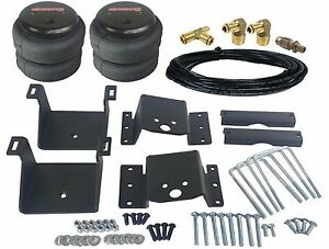 Towing Air Load Level Bag Kit Fits 2011 2017 Chevy 8 Lug Truck Bolt On Rear