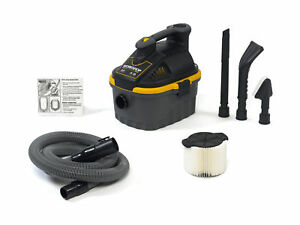 Workshop Wet Dry Vacs Ws0401va 4 gallon Portable Vacuum With Car Cleaning Kit