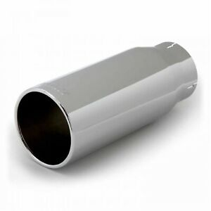 Banks 52930 Round Straight Cut Chrome Exhaust Tip