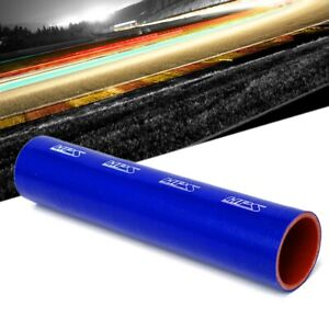 Hps 1 Foot 3 12 80mm Blue 4 Ply Silicone Hose Tube Coupler Intake Turbo