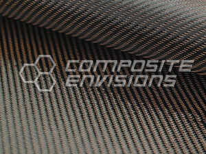 Copper Mirage Carbon Fiber Cloth Fabric 2x2 Twill 50 3k 290gsm 8 6oz Hd