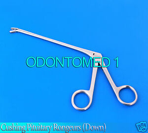 Cushing Pituitary Rongeurs 6 5mm down Ent Surgical Instruments