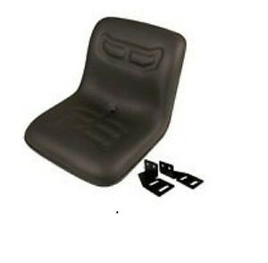 Vld1590 Ford New Holland Compact Tractor Dishpan Seat W Brackets 1200 1300 1500