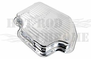 Gm Chevy Turbo 400 Chrome Automatic Transmission Pan 2 Stock Depth Th400