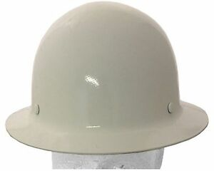Msa Skullgard Fiber Glass Fb Hard Hat With Ratchet Or Pin Lock Susp white