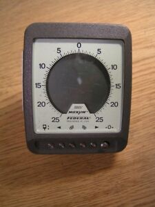 Federal Maxum Indicator 0005 Model Dei 72120 d