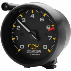 Autometer Tachometer Auto Gage 0 8 000 Rpm 3 3 4 Analog Electrical W Shift