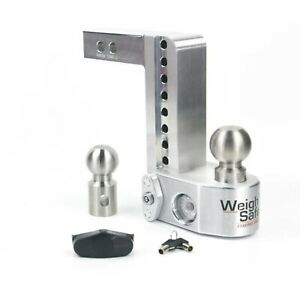 Weigh Safe Ws8 2 Adjustable 8 Drop Hitch Ball Mount W 2 Shaft