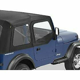 Bestop Half Doors Set Of 2 Front New For Jeep Wrangler 1988 1995 Pair 51780 15