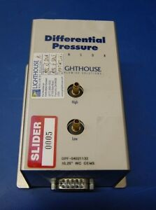 Lighthouse Differential Pressure Sensor 0 25 Wc Cems