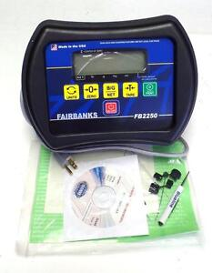 New Fairbanks Fb2250 Scale Indicator Fb2250 1