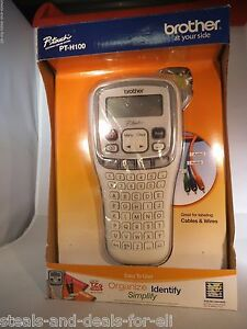 New In Box Brother Pt h100 Label Maker P touch Electronic Tze Tape
