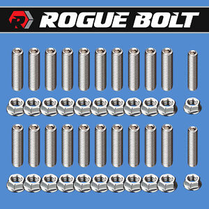 Bbc Oil Pan Stud Kit Bolts Stainless Steel Big Block Chevy 396 402 409 427 454
