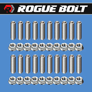 Ford Fe Oil Pan Stud Kit Bolts Stainless Steel 352 360 390 406 427 428 Engines