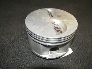 Small Block Chevy 2 Valve Relief Flat Top Piston Paper Weight 3